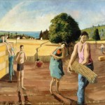 Harvesters (Oil on canvas - 1983)